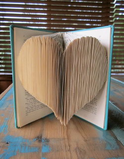 valentine book art