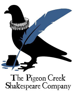 pigeon creek shakespeare logo
