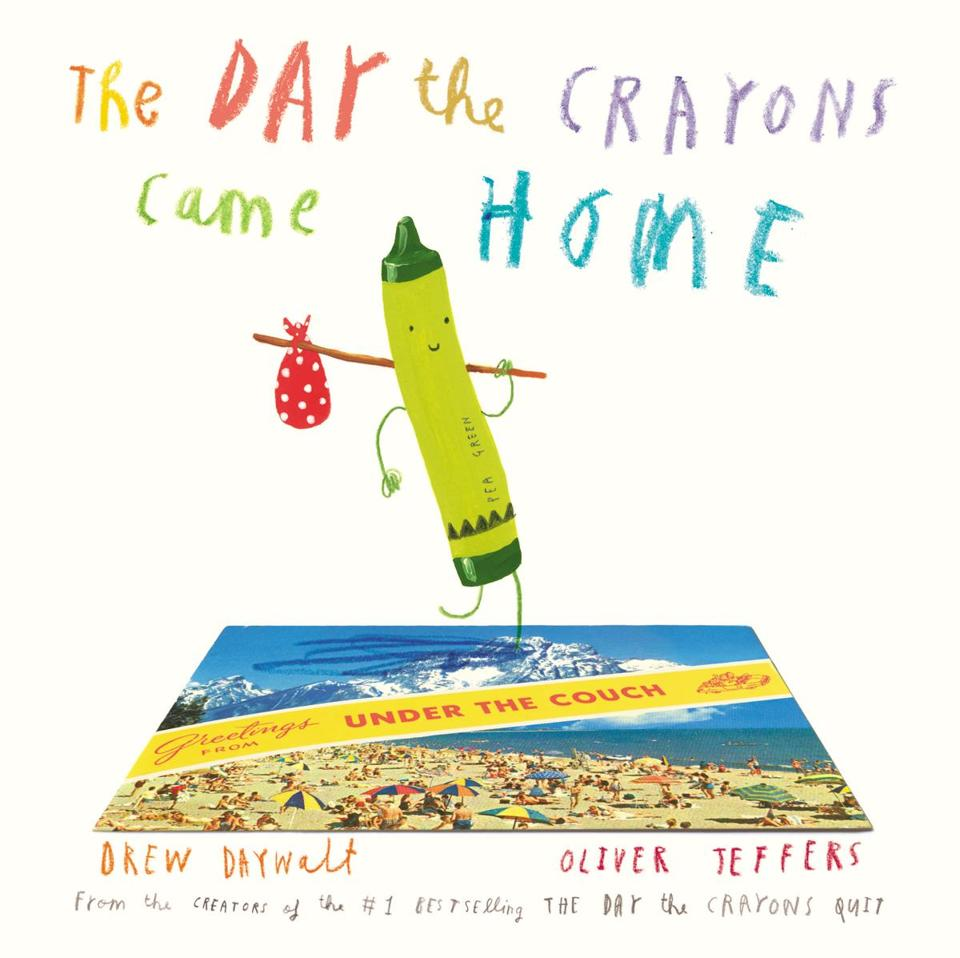 Day the Crayons Came Home Book Cover