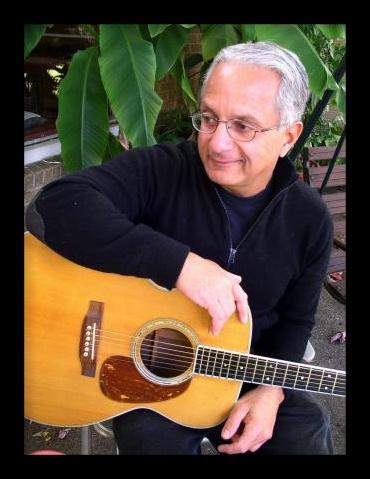 Ray Kamalay with his guitar
