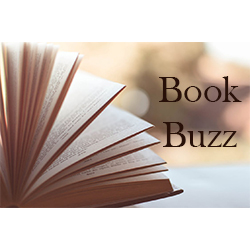 Open book with pages, Book Buzz
